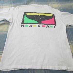 VINTAGE KAUI CRAZY SHIRTS HAWAII T-SHIRT SIZE XL
